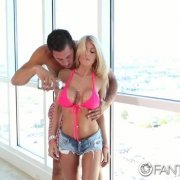FantasyHD Busty blonde Kayla Kayden fucked and facialed